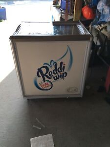 Working Condition Reddi Whip Supermarket Electric Spot Refridgerator freezer