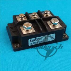 3 phase Diode Bridge Rectifier Power 1600v 300a Amp Mds300a New