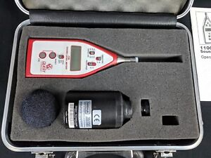 3m Quest Technologies 2100 Audio Sound Level Meter With Qc 10 Calibrator