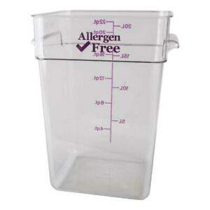 Cambro Allergen Free Camsquare Food Storage Containers All Sizes