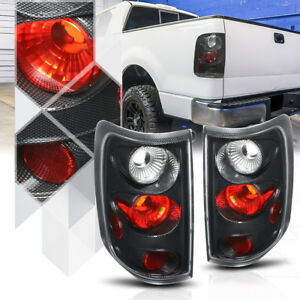 Carbon Fiber Style Euro Altezza Tail Light Lamp For 04 08 Ford F150 Styleside