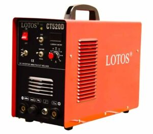 Lotos 50amp Plasma Cutter 200 Amp Tig Stick Welder Welding Machine Dual Voltage