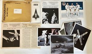 Vintage 1973 Spacelab Skylab Nasa Pamphlets 8 Color Photos Press Kit