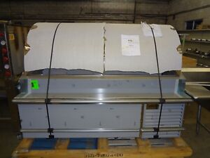 New Traulsen Road Show Sushi fish meat Case Display Retails 16 000 00