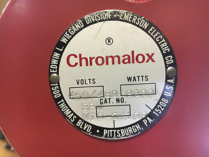 Chromalox Mto 3x109 New In Box 460 480v 9000w Element See Pictures Shelf C9