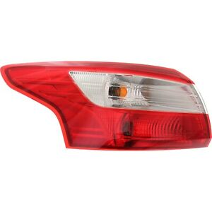 Tail Light For 2012 2014 Ford Focus Driver Side Outer