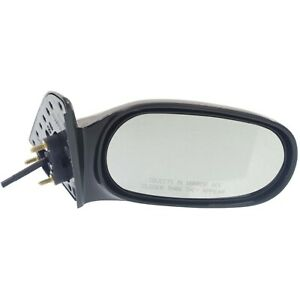Manual Remote Mirror For 1998 2002 Toyota Corolla Passenger Side Paintable