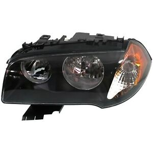 Headlight For 2004 2005 2006 Bmw X3 2 5i 3 0i Models Left With Bulb