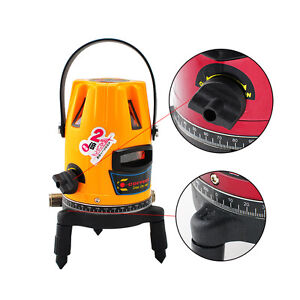 Professional Automatic Self Leveling 5 Line 1 Point 4v1h Laser Level Tripod