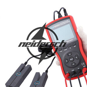 Intelligent Double Clamp Digital Phase Volt ampere Meter Etcr4000a 0 0w 12kw
