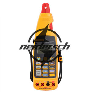 New 44 X 70 X 246 Mm Fluke 773 Milliamp Process Clamp Meter With Soft Case F773