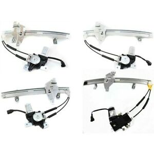 Window Regulator For 97 2003 Pontiac Grand Prix Set Of 4 Front And Rear