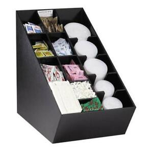 Dispense rite Nlo ctvl Lid Straw And Condiment Organizer