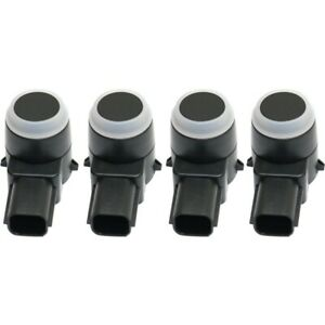 New Set Of 4 Parking Assist Sensors Rear For Chevy Suburban Silverado 1500 Gmc