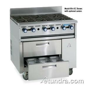 Imperial Ir 36abr sc 36 Sizzle n Chill W Charbroiler Top