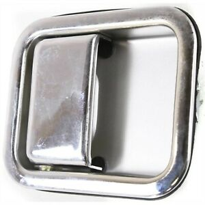 Door Handle For 97 98 99 2000 2006 Jeep Wrangler Tj Front Right Outer Chrome