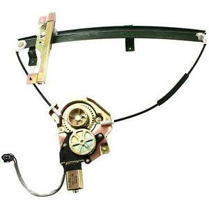 Front Power Window Regulator W Motor Driver Side Left Lh For Rodeo Passport
