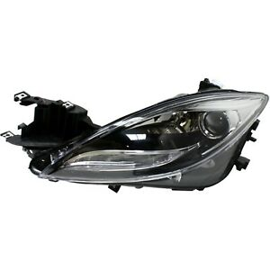 Headlight For 2011 2012 2013 Mazda 6 S Gt Gs I Models Left Hid