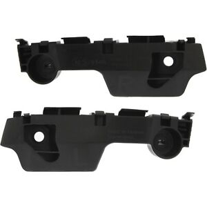 Bumper Retainer Set For 2009 2013 Mazda 6 Front Plastic 2 Pcs