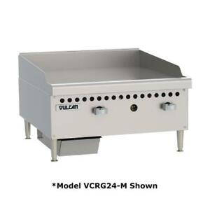 Vulcan Vcrg48 m 48 In Countertop Gas Griddle