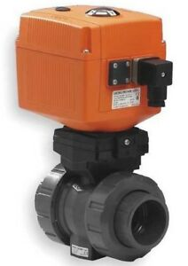 Georg Fischer Signet 2 Cpvc Type 546 Ball Valve Electric Actuated W Epdm Seals