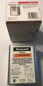 Honeywell Ra832a 1066 Switching Relay 120v 60hz Transformer 2 Wire new In Box