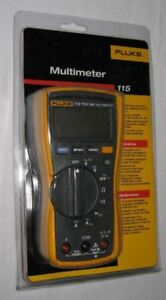 Fluke 115 True Rms Field Service Digital Multimeter New W Max Min