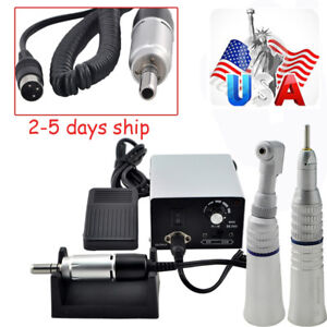 Us Dental Lab Marathon Electric Micro Motor Contra Angle Straight Handpiece A