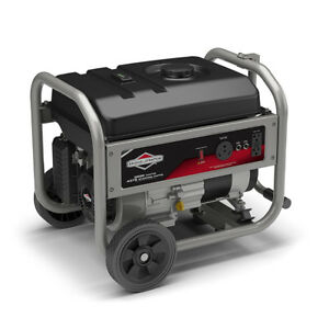 Briggs Stratton 3500 Watt 8 Hour Portable Generator With Rv Outlet Gen 30680
