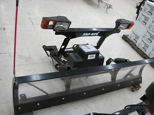 Demo Nos Sno Way 7 6 Snow Plow 22 Series With Down Pressure Clear Blade