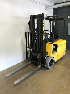 Hyster Electric Forklift J30as W 800 Ah Charger Great 1st Forklift Or Backup