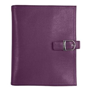 Day timer 7 Ring Starter Set Planner Cover Purple 5 5 X 8 5 In