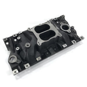 Enginequest Chevy 305 350 Marine Intake Manifold Cast Iron 96 02 Vortec