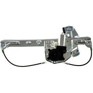 Power Window Regulator For 2000 2005 Cadillac Deville Rear Right With Motor