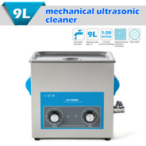 9l Ultrasonic Cleaner Professional Jewelry Watch Glasses Cleaning Machine Timer