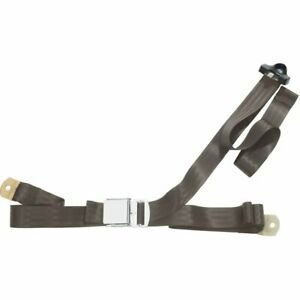 Beams Ch300 Charcoal Seat Belt Charcoal 3 Point Universal