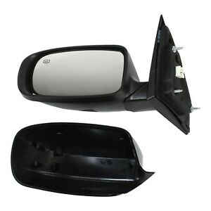 Power Mirror Heated Manual Fold Paintable Left For 2011 2014 Chrysler 200 Sedan