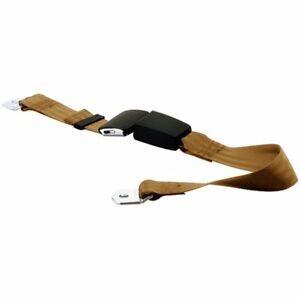 Beams 151174 30 Tan Seat Belt Tan 2 point Universal