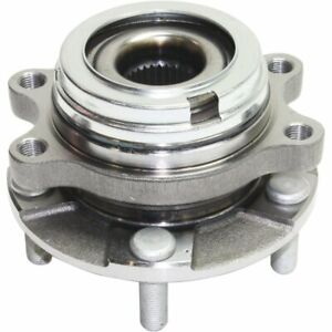Front Right Wheel Hub Bearing W Abs Fits 2009 2012 Nissan Murano 2011 Quest