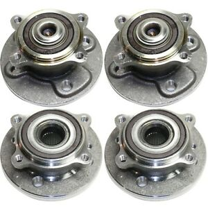 New Wheel Hubs Set Of 4 Front Rear Driver Passenger Side Lh Rh For Mini Cooper