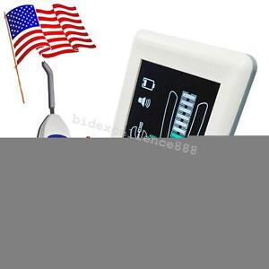 Us Dental Apex Locator Finder Root Canal Meter Color Lcd Screen With Pulp Tester