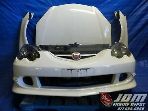 02 06 Honda Integra Acura Rsx Type r Dc5 White Front End Conversion K20a 127