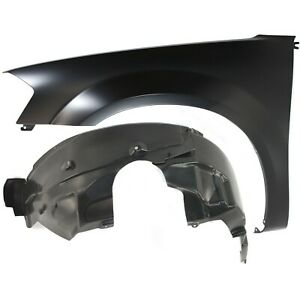 Fender Kit For 2008 2010 Dodge Avenger Front Left Primed Steel W Fender Liner