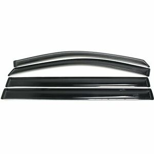 Ventshade 94251 Window Visor For 2008 2017 Dodge Grand Caravan Front