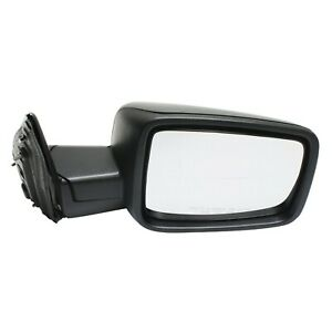 Kool Vue Manual Mirror For 2013 2017 Ram 1500 Right Textured Black Folding