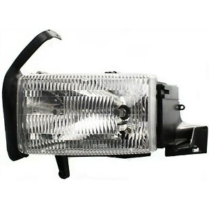 Headlight For 1994 2001 Dodge Ram 1500 Driver Side