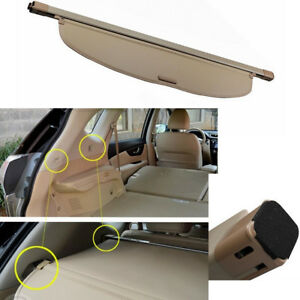 Cargo Cover Retractable Rear Trunk Security Shade For Nissan Rogue X trail 14 15
