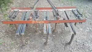 J Bar Corporation 7 Shank Field Cultivator Ripper Plow