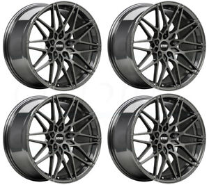 18x8 5 Vmr V801 5x112 35 Anthracite Wheels Rims Set 4