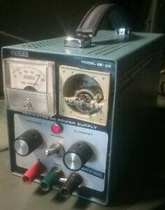 Anatek 25 2s Regulated Dc Power Supply With Missing Plastic Gauge Cover